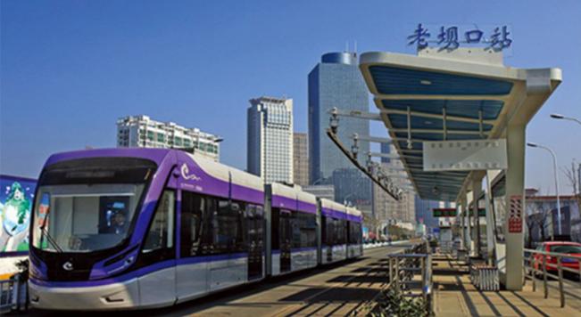 槽型轨应用于淮安城市轨道交通