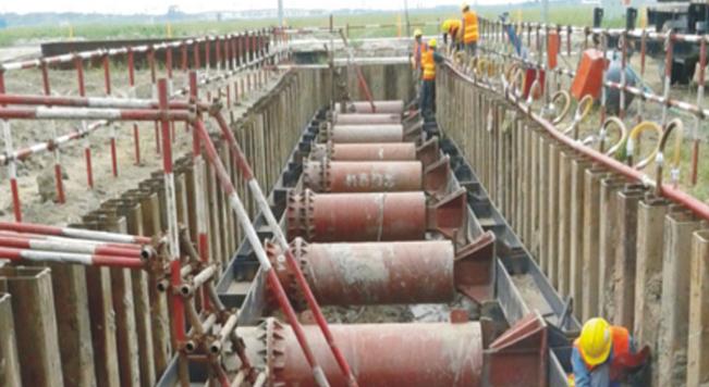 钢板桩应用于上海迪士尼工程