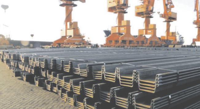 钢板桩出口韩国