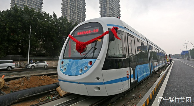 槽型轨应用于珠海有轨电车
