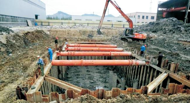 杭州戴村深基坑维护工程